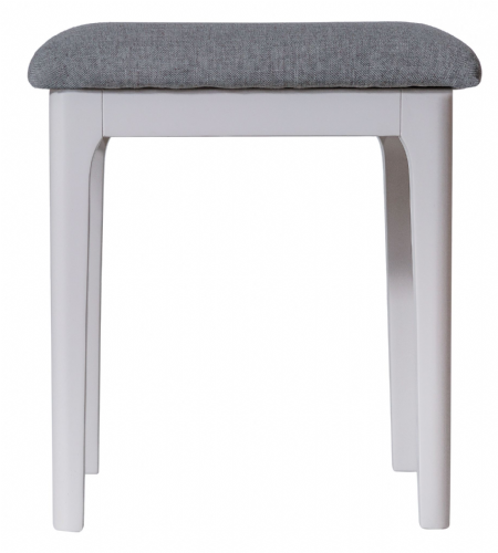 Scandia Grey Bedroom  Stool